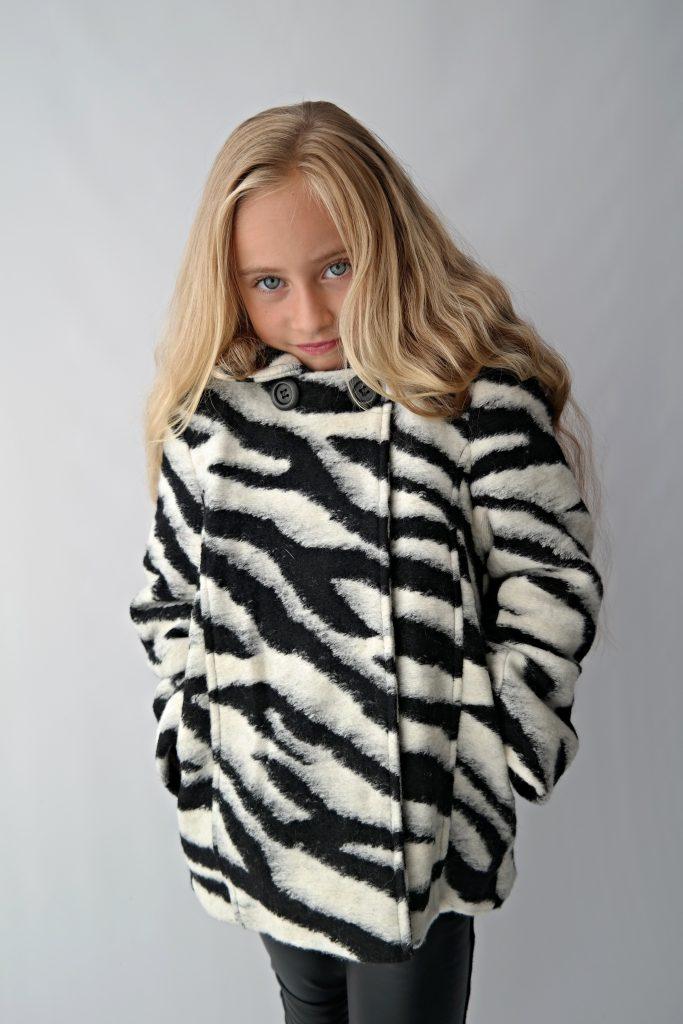 Winter musthave; de Like Flo zebra winterjas – Little Style